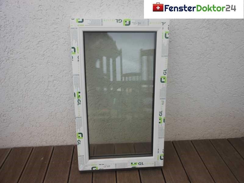 Breite 500 mm - ! Nicht zum öffnen ! bis 2400 mm Höhe mit 2fach od. 3fach Glas